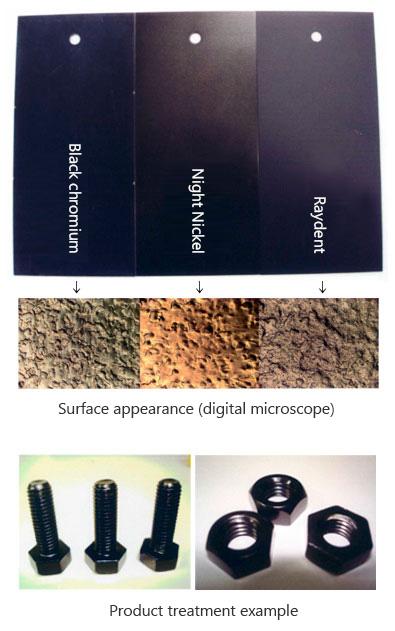 Thick black electroless nickel plating|AKITA KAGAKU Co , Ltd
